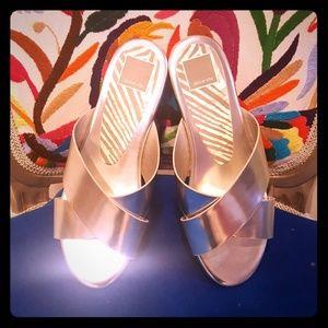 Dolce Vita Cross Strap Slide Sandal